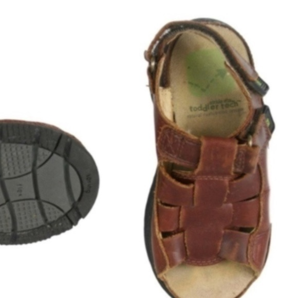 STRIDE RITE Other - STRIDE RITE Brown Leather Fisherman Sandals 9W